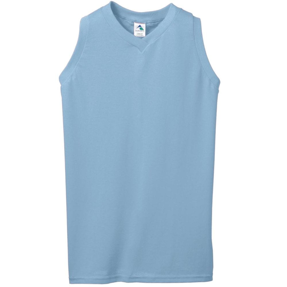 Augusta Sportswear 557 - Girls Sleeveless V Neck Poly/Cotton Jersey