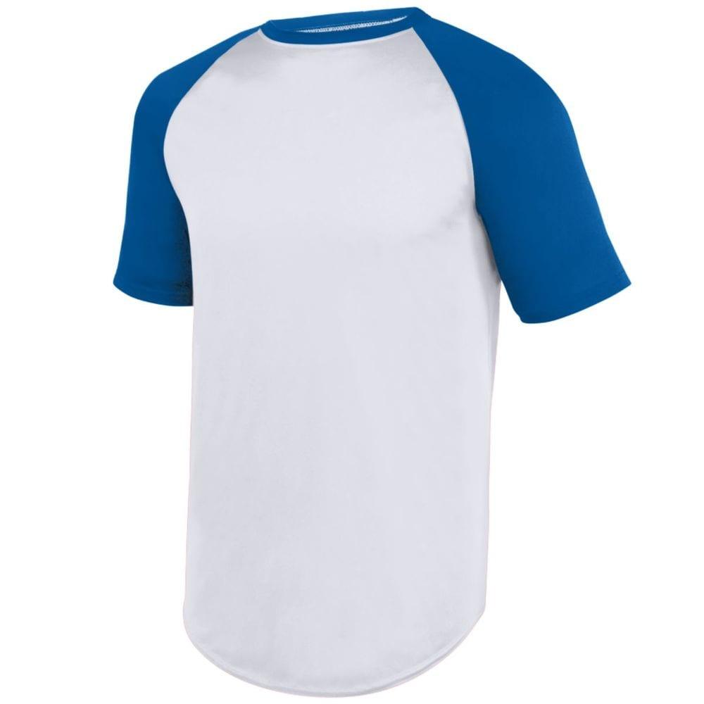 Augusta Sportswear 1509 - Youth Wicking Short Sleeve Baseball Jersey