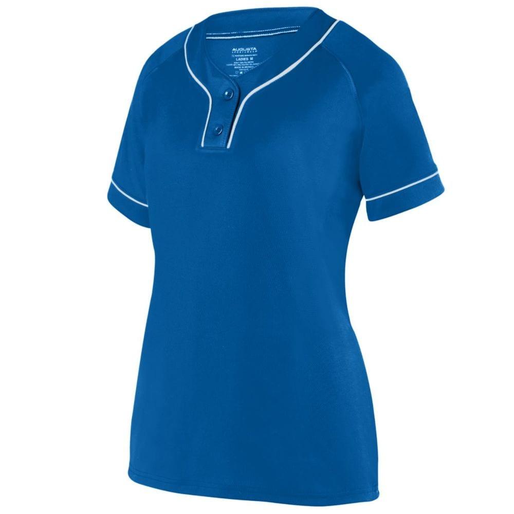 Augusta Sportswear 1671 - Girls Overpower Two Button Jersey