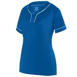 Augusta Sportswear 1671 - Girls Overpower Two Button Jersey