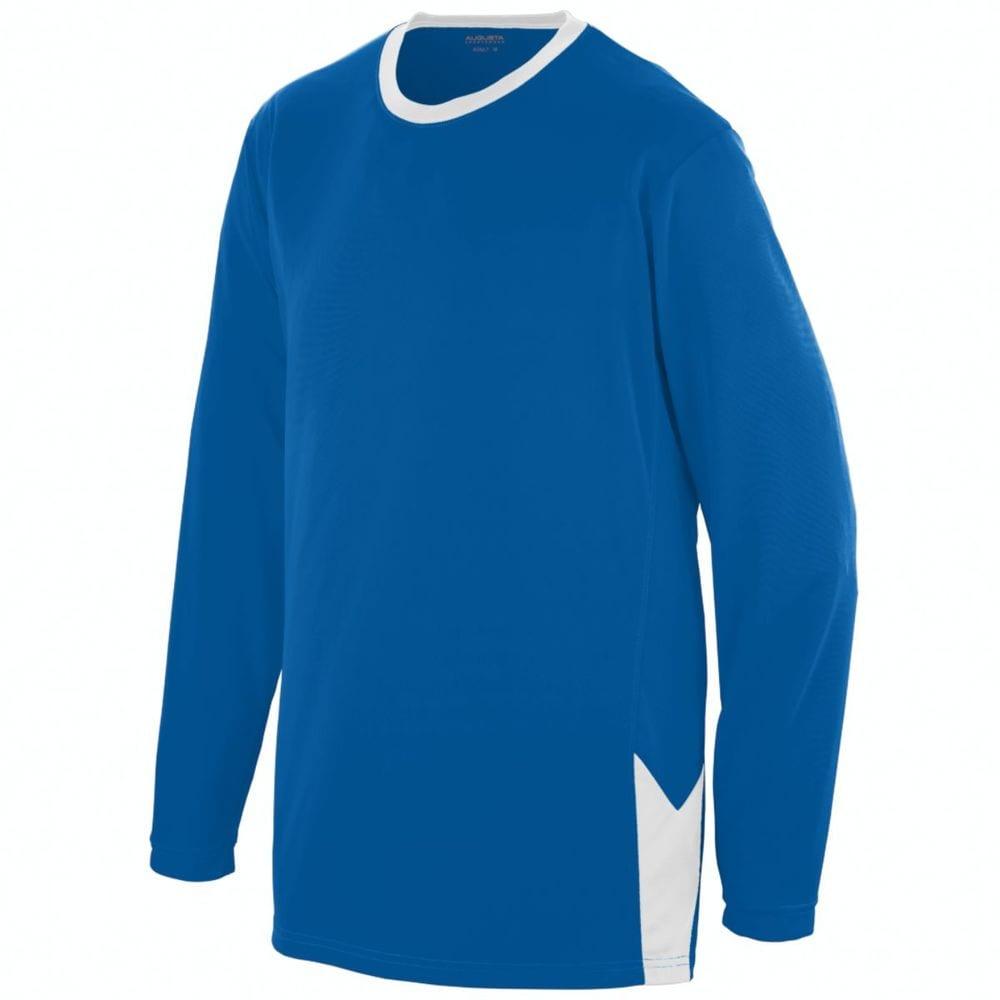 Augusta Sportswear 1718 - Youth Block Out Long Sleeve Jersey