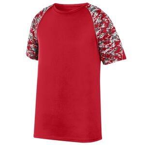 Augusta Sportswear 1782 - Color Block Digi Camo Jersey
