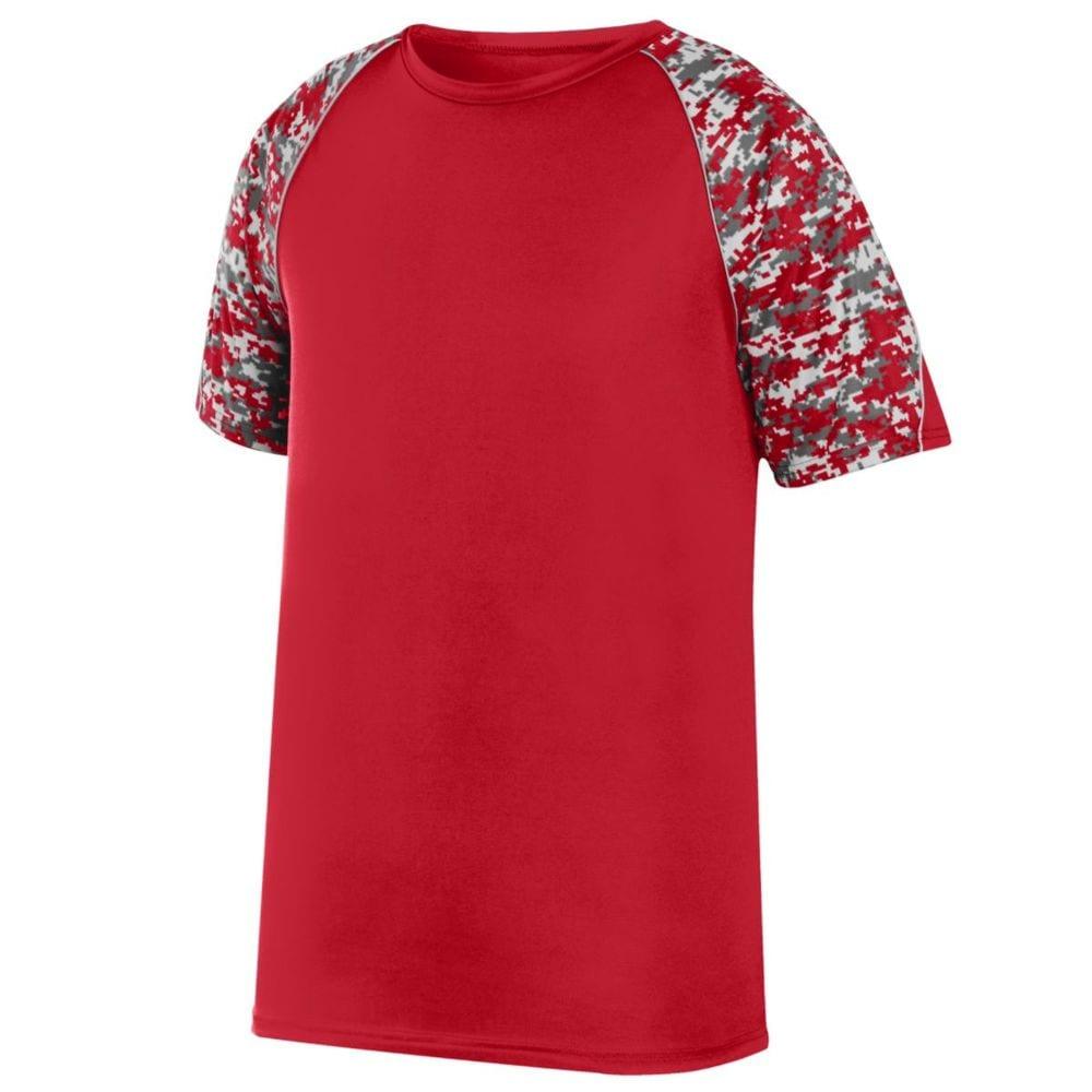 Augusta Sportswear 1783 - Youth Color Block Digi Camo Jersey