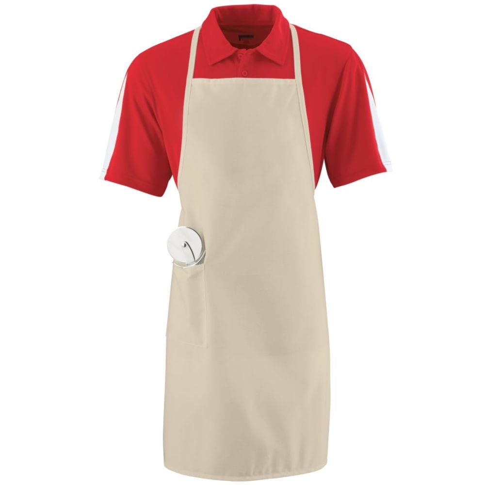 Augusta Sportswear 2070 - Long Apron With Pockets