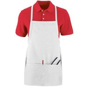 Augusta Sportswear 2710 - Delantal de bar con bolsillo frontal