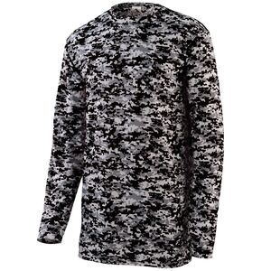 Augusta Sportswear 2789 - Youth Digi Camo Wicking Long Sleeve T Shirt