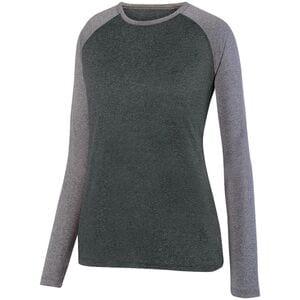 Augusta Sportswear 2817 - Ladies Kinergy Two Color Long Sleeve Raglan Tee
