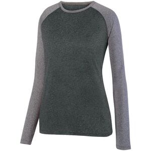 Augusta Sportswear 2817 - Ladies Kinergy Two Color Long Sleeve Raglan Tee