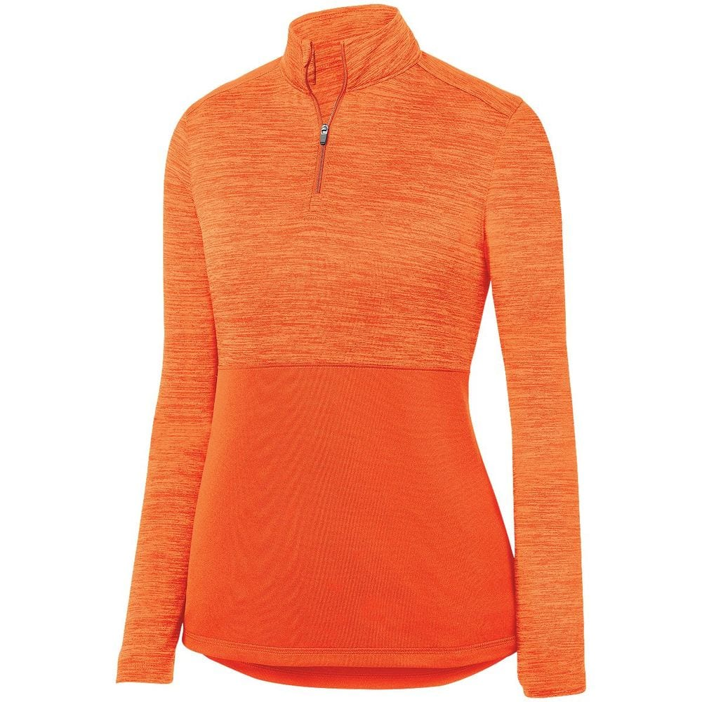 Augusta Sportswear 2909 - Ladies Shadow Tonal Heather 1/4 Zip Pullover