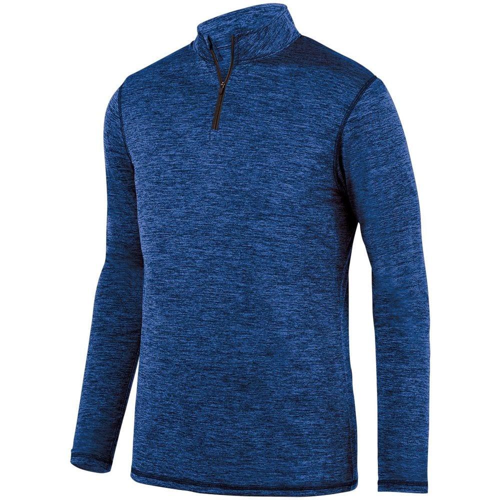 Augusta Sportswear 2955 - Intensify Black Heather 1/4 Zip Pullover