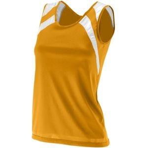 Augusta Sportswear 313 - Ladies Wicking Tank With Shoulder Insert