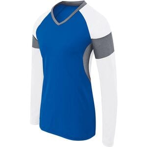 HighFive 342143 - Girls Long Sleeve Raptor Jersey