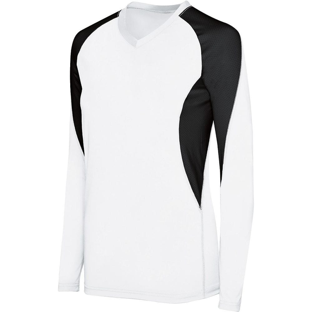 HighFive 342182 - Ladies Long Sleeve Court Jersey