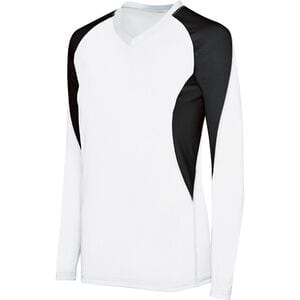 HighFive 342183 - Girls Long Sleeve Court Jersey