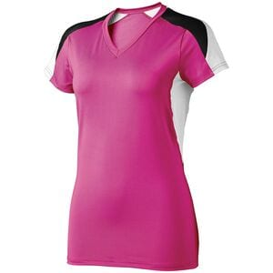 HighFive 342192 - Ladies Atomic Short Sleeve Jersey