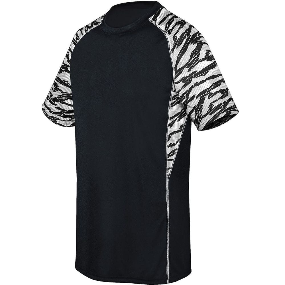 HighFive 372331 - Youth Evolution Printed Short Sleeve Jersey