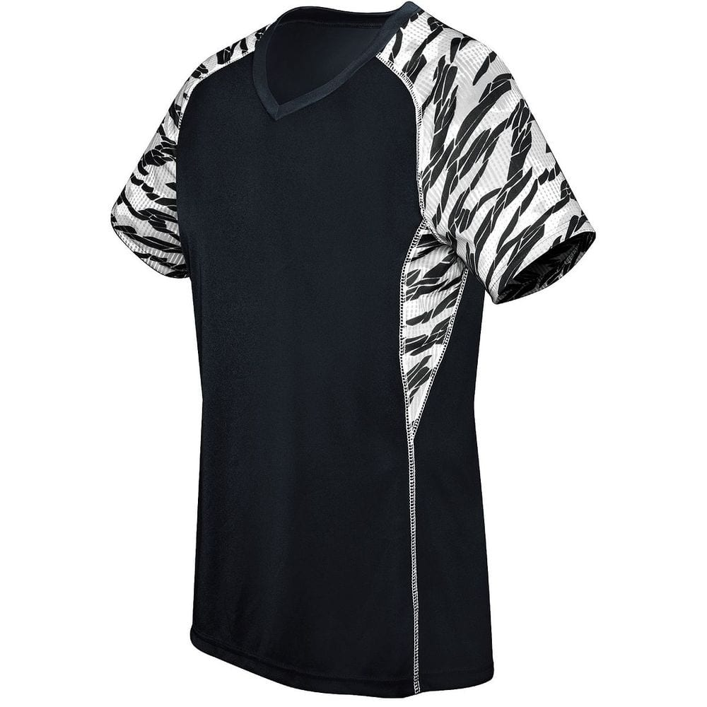 HighFive 372332 - Ladies Printed Evolution Short Sleeve