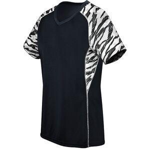 HighFive 372333 - Girls Printed Evolution Short Sleeve