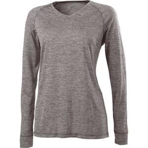 Holloway 222717 - Ladies Electrify 2.0 Shirt V Neck Ls