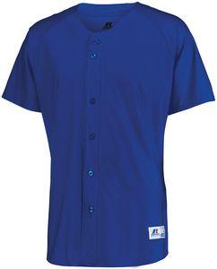 Russell 343VTM - Raglan Sleeve Button Front Jersey