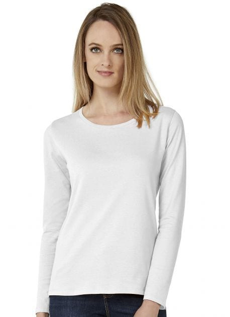 B&C BC06T - Tee-shirt femme manches longues