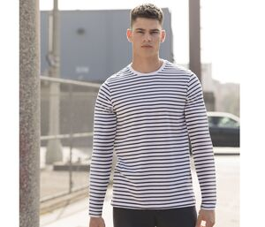 SF Men SF204 - Unisex Long Sleeved Striped T