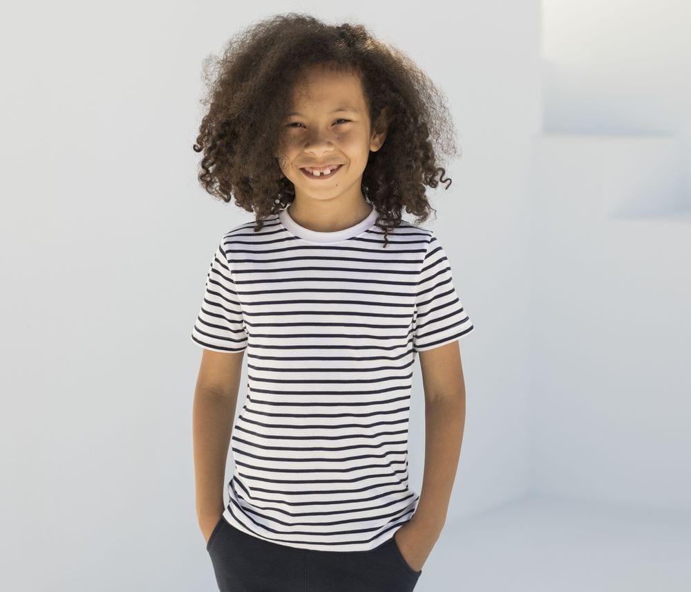SF Mini SM202 - T-shirt marinière enfant