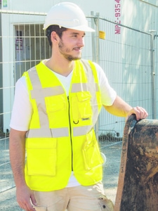 Korntex KX219 - Gilet Di Sicurezza Multitasca
