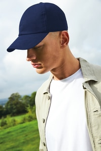 Beechfield BF054 - Organic Cotton 6 Panel Cap