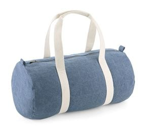 BAG BASE BG646 - DENIM BARREL BAG