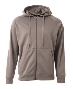 A4 A4N4001 - Adult Agility Tech Fleece Hoodie