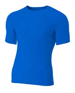 A4 A4NB3130 - Youth Short Sleeve Compression Crew