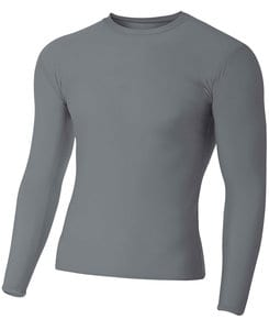 A4 A4NB3133 - Youth Long Sleeve Compression Crew