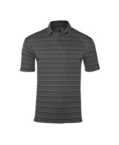 Badger BG3325 - Adult Sport Stripe Polo