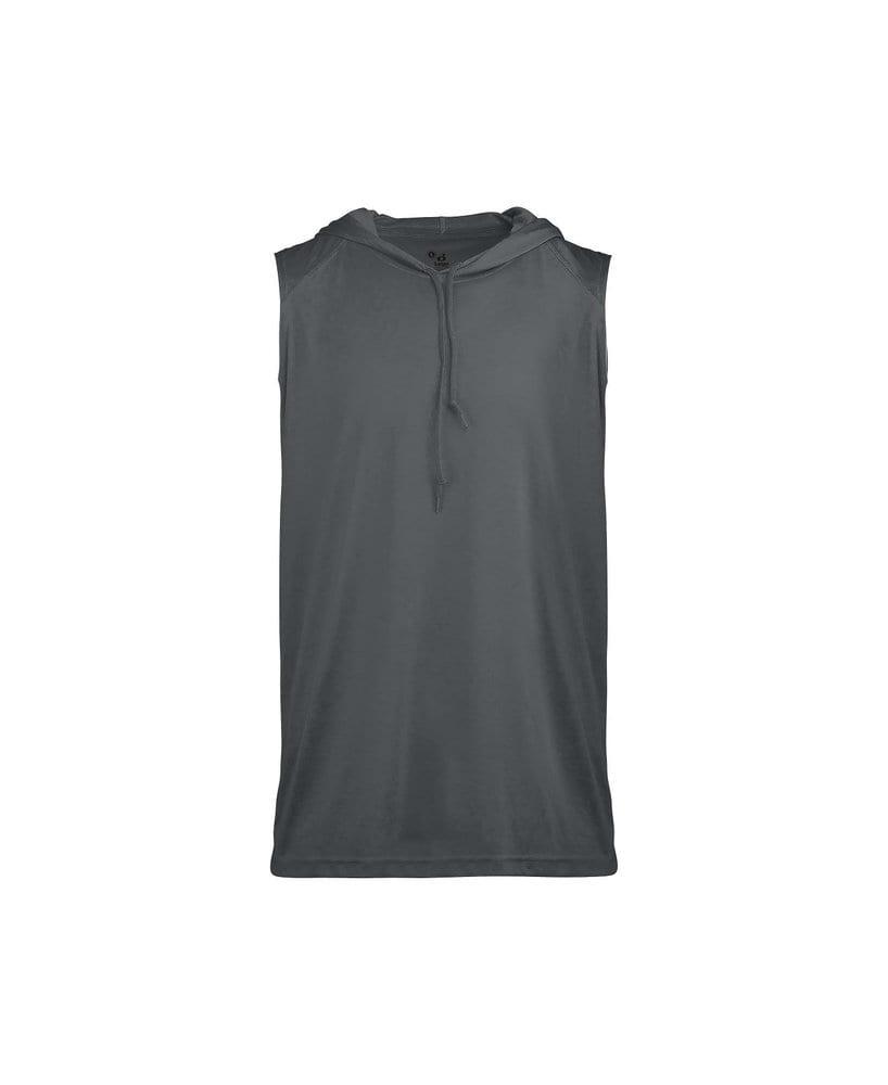 Badger BG4108 - Adult B-Core Sleeveless Hood Tee