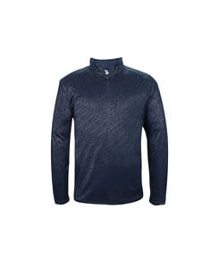 Badger BG4134 - Adult Line Embossed 1/4 Zip