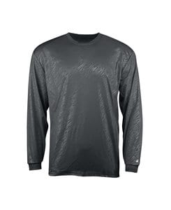 Badger BG4145 - Adult Line Embossed Long Sleeve Tee