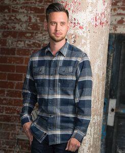 Burnside BN8219 - Adult Snap Flannel Shirt