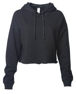 Independent Trading Co. AFX64CRP - Womens Lightweight Crop Hooded Pullover