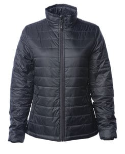 Independent Trading Co. EXP200PFZ - Womens Hyper-Loft Puffy Jacket