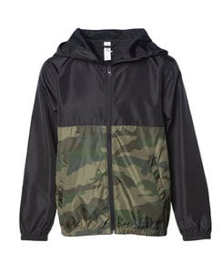 Independent Trading Co. EXP24YWZ - Youth Windbreaker Jacket