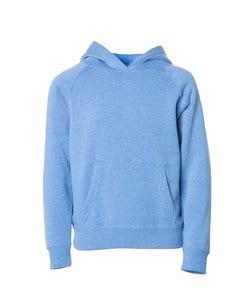 Independent Trading Co. PRM10TSB - Toddler Lightweight Raglan Hooded Pullover