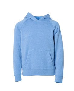 Independent Trading Co. PRM10TSB - Toddler Lightweight Raglan Hooded Pullover