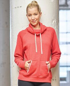 J. America JA8653 - Ladies Relay Cowl Neck Fleece