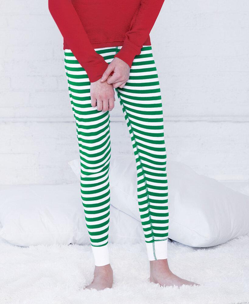 LAT LA612Z - LAT Youth Baby Rib Pajama Bottom
