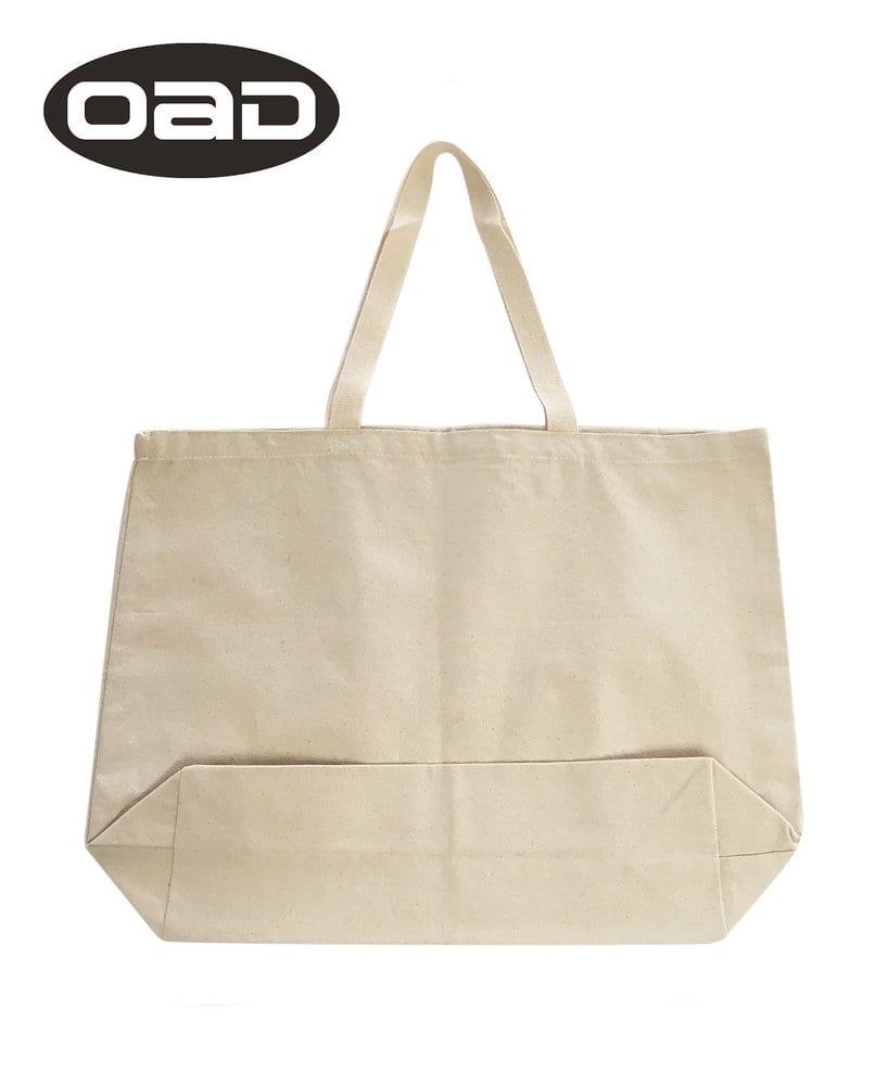 Liberty Bags OAD108 - Bolso OAD Jumbo 12 onzas con fuelle