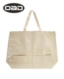 Liberty Bags OAD108 - OAD Jumbo 12 oz Gusseted Tote