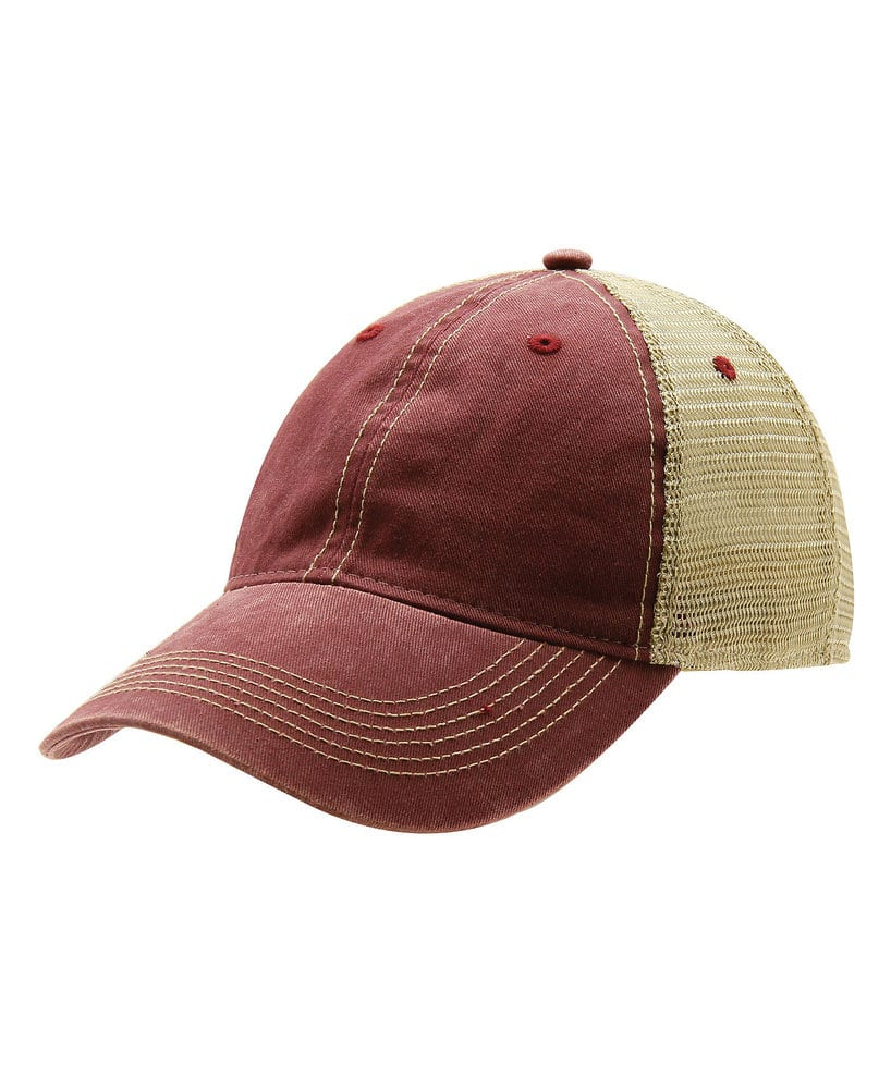 Ouray Sportswear 51286 - Ouray Legend Washed Cotton Vintage Mesh Back Cap