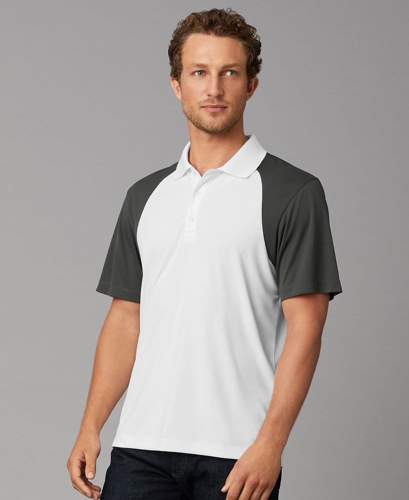 Prim + Preux PP2038 - PRIM + PREUX Adult Energy Color Block Polo