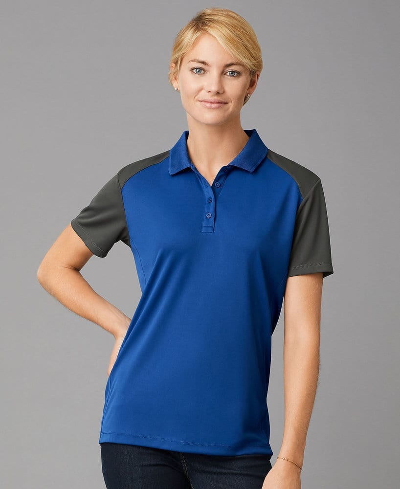 Prim + Preux PP2039L - PRIM + PREUX Women's Energy Color Block Polo